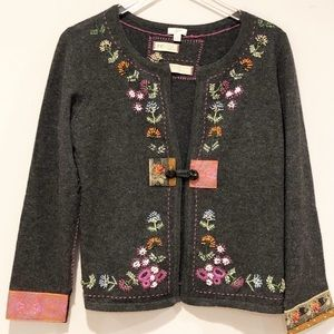 J. Jill limited edition re-crafted cardigan size S